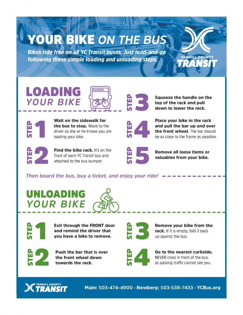 Your Bike on the Bus • YCT Transit